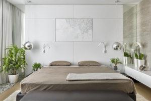 Дизайн спальни и выбор кровати