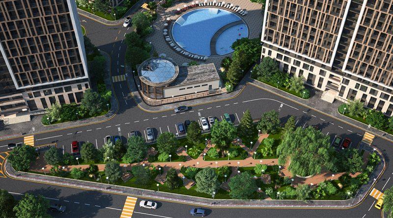 Жилой комплекс Аллея Парк Дагомыс